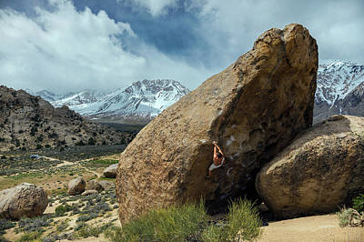 Photograph - Bishop Bouldering by Evgeny Vasenev