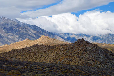 Art Print featuring the photograph Bishop California by Dung Ma