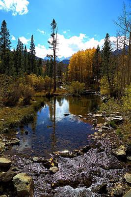 Bishop Creek In Fall Art Print