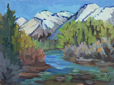 Painting - Bishop Creek - Sierra Nevadas by Diane McClary