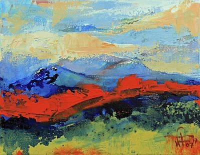 Bishop Mountains - Fall 2016 Art Print