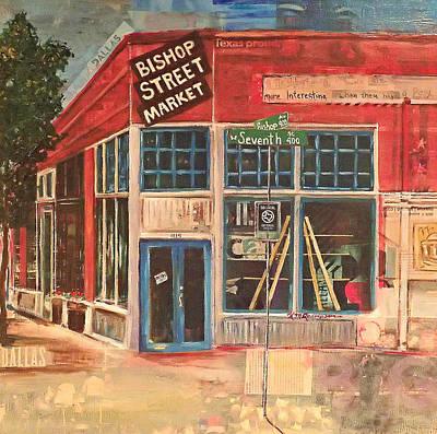 Bishop Street Market Art Print