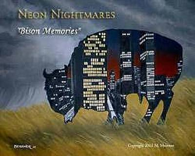 Painting - Bison Memories by Michael Meissner