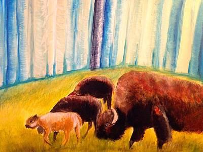 Bison Migration Original