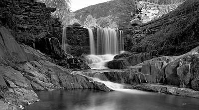 Bissell Falls   Art Print by Ed Boudreau