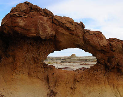 Photograph - Bisti Arch by Alan Toepfer