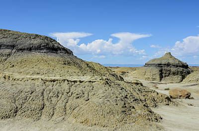 Photograph - Bisti Badlands - Dead End Again by Debra Martz