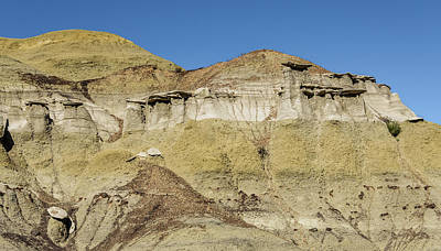 Photograph - Bisti Badlands - Layers And Formations  by Debra Martz