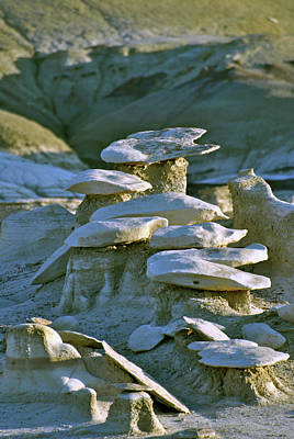 Photograph - Bisti Badlands, Nm 55 by Jeff Brunton