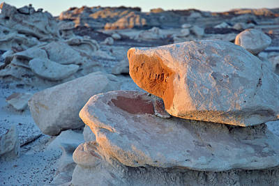 Photograph - Bisti Badlands, Nm 86 by Jeff Brunton