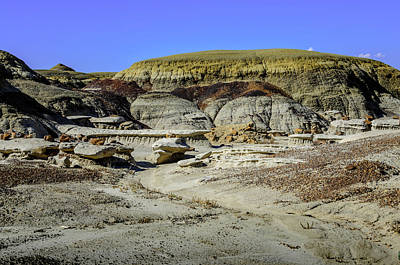 Photograph - Bisti Badlands - Oops Wrong Turn by Debra Martz
