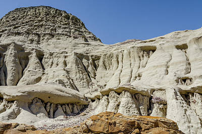 Photograph - Bisti Badlands - Rounding Another Corner by Debra Martz