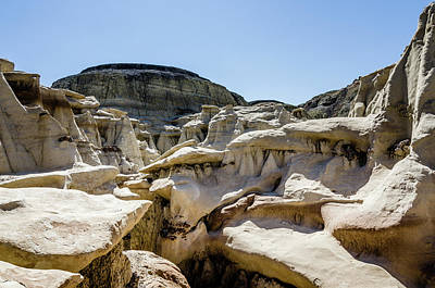 Photograph - Bisti Badlands - The Squeeze by Debra Martz