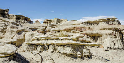 Photograph - Bisti Badlands - Windswept by Debra Martz