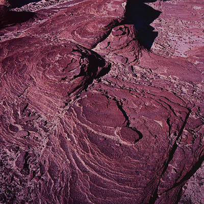 Photograph - Bisti Fudge Swirl by Tom Daniel