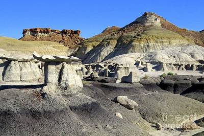 Photograph - Bisti Monuments by Frank Townsley