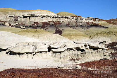 Photograph - Bisti Stratus by Frank Townsley