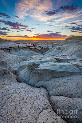 Photograph - Bisti Twilight by Inge Johnsson