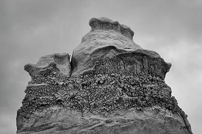 Bisti V Bw Art Print by David Gordon