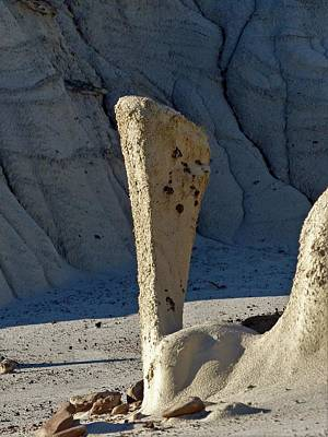 Photograph - Bisti Wilderness Area At Sunup 69 by Jeff Brunton
