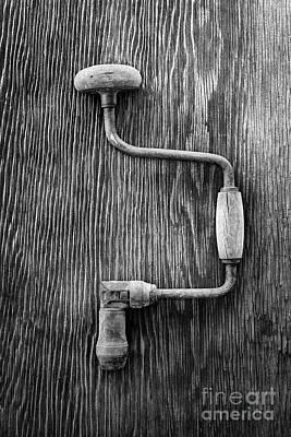 Photograph - Bit Brace R Bw by YoPedro