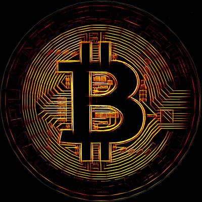 Digital Art - Bitcoin by Kaylee Mason