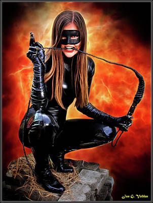 Photograph - Bite Of The Cat Woman by Jon Volden