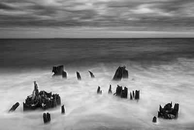 Photograph - Bite Of The Ocean II by Jon Glaser