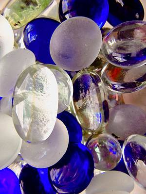 Photograph - Bits Of Glass by Stephanie Moore