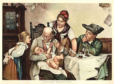 Bitter Medicine Art Print
