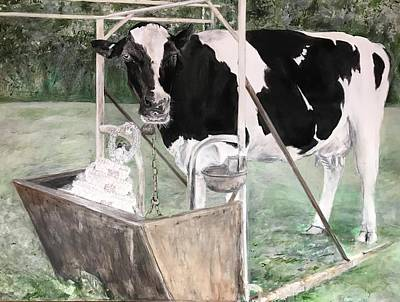 Feminist Mixed Media - Bitter Milk by Leah Tomaino