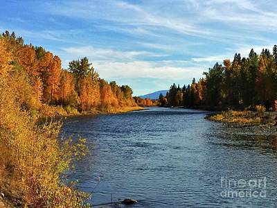 Photograph - Bitterroot River Montana by Joseph J Stevens