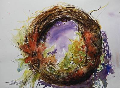 Bittersweet Painting - Bittersweet by Susan Seaborn
