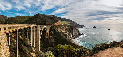 Photograph - Bixby Creek Bridge Big Sur California  by John McGraw