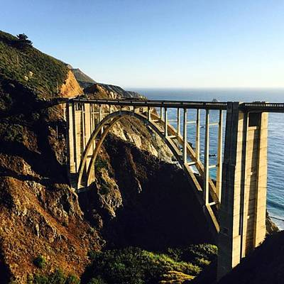 California Photograph - Bixby Bridge #california #bigsur by Scott Pellegrin