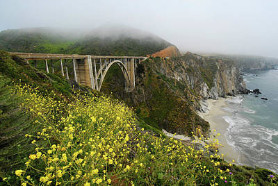Photograph - Bixby Bridge by Harry Spitz