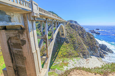 Photograph - Bixby Bridge In Big Sur by Benny Marty