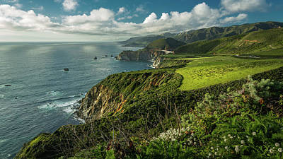Photograph - Bixby Bridge On The Coast by Rick Strobaugh