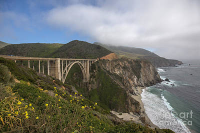 Photograph - Bixby Bridge by Shishir Sathe
