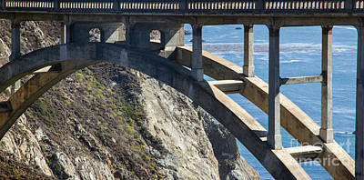 Bixby Bridge Truss Art Print by Juan Romagosa