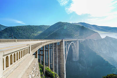 Photograph - Bixby Bridge,big Sur by Jingjits Photography