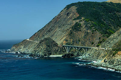Photograph - Bixby Creek Bridge 1 by Michael Gordon
