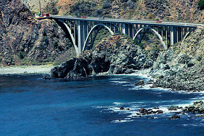 Photograph - Bixby Creek Bridge 2 by Michael Gordon
