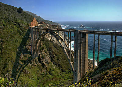 Photograph - Bixby Creek Bridge 3 by Michael Gordon