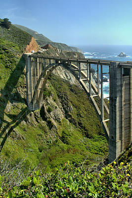 Photograph - Bixby Creek Bridge 4 by Michael Gordon