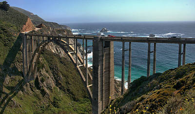 Photograph - Bixby Creek Bridge 5 by Michael Gordon