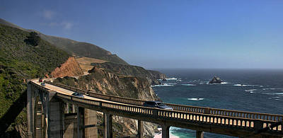Photograph - Bixby Creek Bridge 6 by Michael Gordon