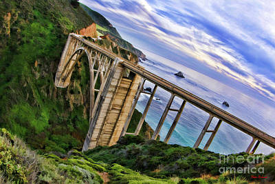 Photograph - Bixby Creek  Bridge  Big Sur by Blake Richards