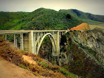 Photograph - Bixby Creek Bridge Big Sur Ca by Joyce Dickens