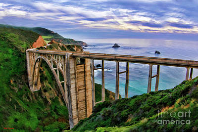 Photograph - Bixby Creek Bridge by Blake Richards
